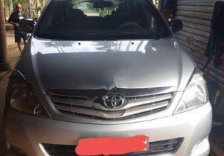 Cần bán lại xe Toyota Innova đời 2009, màu bạc xe nguyên bản giá 374 triệu tại Đắk Lắk