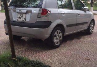 Bán Hyundai Getz 1.1 MT đời 2009, màu bạc, nhập khẩu nguyên chiếc giá 185 triệu tại Hà Nội