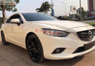 Cần bán lại xe Mazda 6 2.5 đời 2014, màu trắng chính chủ giá 640 triệu tại Hải Phòng