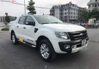 Cần bán Ford Ranger Wildtrak 3.2 4x4 AT năm sản xuất 2015, màu trắng, nhập khẩu số tự động giá 595 triệu tại Hà Nội