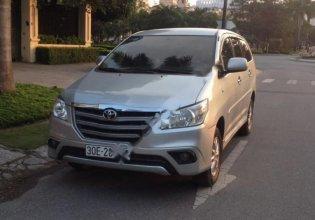 Cần bán xe Toyota Innova 2.0 E sx 2014, màu bạc số sàn, 490 triệu giá 490 triệu tại Hà Nội
