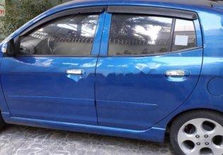 Bán Kia Morning SLX 1.0 AT năm sản xuất 2008, màu xanh lam, nhập khẩu chính hãng giá 115 triệu tại Tp.HCM
