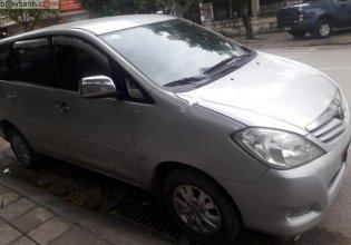 Bán xe Toyota Innova G đời 2011, màu bạc, số sàn  giá 367 triệu tại Hà Nội