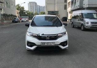 Bán Honda Jazz RS năm sản xuất 2018, màu trắng, nhập khẩu   giá 583 triệu tại Hà Nội