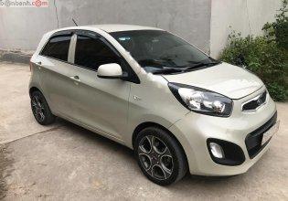 Cần bán lại xe Kia Morning sản xuất năm 2013, màu trắng, xe nhập chính hãng giá 328 triệu tại Thái Nguyên