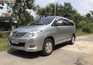Bán Toyota Innova G sản xuất 2009, màu bạc xe gia đình giá 380 triệu tại Tiền Giang