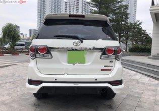 Bán Toyota Fortuner TRD Sportivo 4x2 AT 2015, màu trắng, giá 750tr giá 750 triệu tại Hà Nội