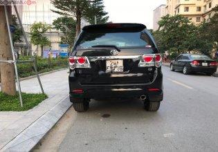 Bán Toyota Fortuner 2.7V 4x2 AT 2012, màu đen, chính chủ giá 555 triệu tại Hà Nội