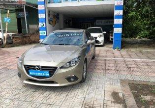 Cần bán lại Mazda 3 1.5 AT năm sản xuất 2015, màu vàng như mới giá 550 triệu tại Hà Nội