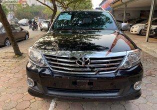 Cần bán Toyota Fortuner 2.7V 4x2 AT đời 2013, màu đen, chính chủ giá 595 triệu tại Hà Nội