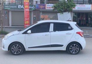 Cần bán lại xe Hyundai Grand i10 1.2 AT sản xuất 2016, màu trắng, nhập khẩu nguyên chiếc giá 395 triệu tại Hà Nội