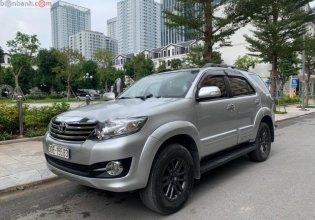 Cần bán gấp Toyota Fortuner 2.7V 4X2 AT đời 2016, màu bạc  giá 755 triệu tại Hà Nội