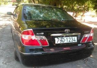 Cần bán gấp Toyota Camry 2.4G đời 2003, màu đen số sàn, giá tốt giá 360 triệu tại Khánh Hòa