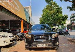 Bán Hyundai Santa Fe SLX đời 2009, màu đen, xe nhập  giá 555 triệu tại Hà Nội