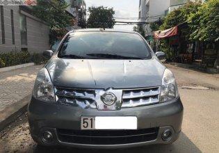 Bán Nissan Grand livina 1.8 AT đời 2011, màu xám xe gia đình giá 335 triệu tại Tp.HCM