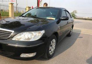Bán Toyota Camry 2.4G năm sản xuất 2002, màu đen số sàn  giá 258 triệu tại Hà Nội