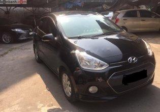 Cần bán xe Hyundai Grand i10 đời 2016, màu đen, nhập khẩu nguyên chiếc chính hãng giá 350 triệu tại Hà Nội