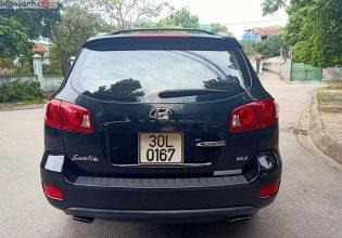 Bán Hyundai Santa Fe MLX 2.0L đời 2008, màu đen, nhập khẩu   giá 490 triệu tại Thái Nguyên