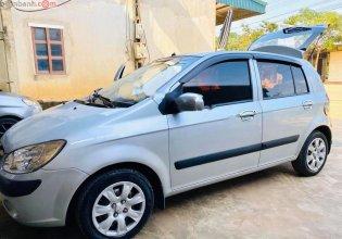 Bán Hyundai Getz 1.1 MT năm sản xuất 2009, màu bạc, nhập khẩu giá 155 triệu tại Hòa Bình