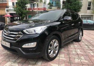 Bán Hyundai Santa Fe 2.4L 4WD sản xuất năm 2015, màu đen, 815tr giá 815 triệu tại Hà Nội