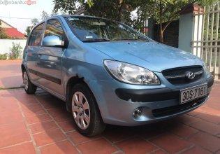 Bán ô tô Hyundai Getz 1.1 MT năm sản xuất 2009, màu xanh lam, nhập khẩu xe gia đình, 205 triệu giá 205 triệu tại Hà Nội