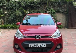 Bán xe Hyundai Grand i10 1.2 AT 2015, màu đỏ, xe nhập chính chủ giá 369 triệu tại Hà Nội