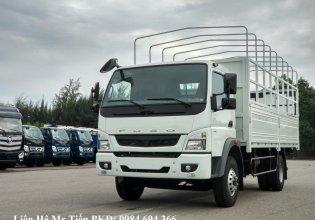 Bán xe tải nhập khẩu Mitsubishi tải 5 tấn máy 140PS thùng dài 5.28m, đóng thùng theo yêu cầu giá 735 triệu tại Hà Nội