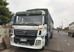 Bán xe tải Thaco Auman 4 chân cũ tải 17,9T màu trắng, xe cực đẹp, máy móc đại chất giá 790 triệu tại Bắc Giang