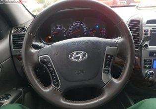 Cần bán Hyundai Santa Fe đời 2010, màu đen, nhập khẩu giá 565 triệu tại Hà Nội
