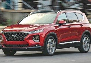 Mua xe trả góp lãi suất thấp với chiếc Hyundai Santa Fe 2.4 xăng, tiêu chuẩn, sản xuất 2020 giá 970 triệu tại Đà Nẵng