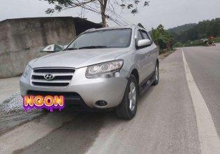 Cần bán gấp Hyundai Santa Fe AT năm 2007, màu bạc, nhập khẩu nguyên chiếc số tự động giá 375 triệu tại Thanh Hóa