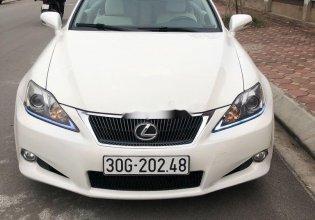 Cần bán gấp Lexus IS đời 2010, màu trắng, xe nhập chính chủ giá 1 tỷ 180 tr tại Hà Nội