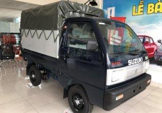 Bán xe Suzuki Super Carry Truck năm sản xuất 2020, thùng bạt, màu xanh đen giá 258 triệu tại Hà Nội