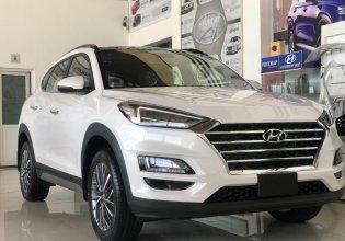 Hyundai Huế - Bán xe Hyundai Tucson 1.6 Turbo sản xuất năm 2020, màu trắng giá 907 triệu tại Đà Nẵng