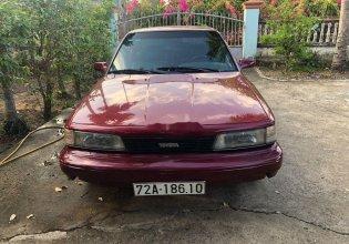 Cần bán lại xe Toyota Camry 1989, màu đỏ, nhập khẩu nguyên chiếc số sàn giá 87 triệu tại BR-Vũng Tàu