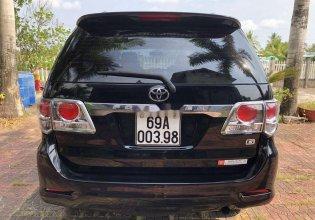 Cần bán gấp Toyota Fortuner đời 2012, màu đen chính chủ, 570 triệu giá 570 triệu tại Cà Mau