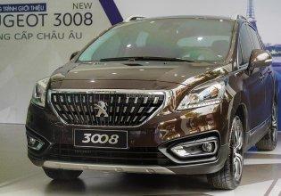 Bán xe Peugeot 3008 năm 2020, màu nâu, giá cạnh tranh giá 1 tỷ 99 tr tại Hà Nội