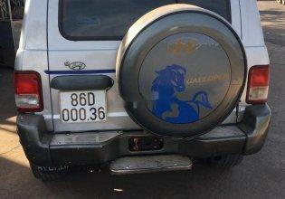 Cần bán Hyundai Galloper sản xuất 2002, màu bạc, nhập khẩu, giá tốt giá 109 triệu tại Đồng Nai