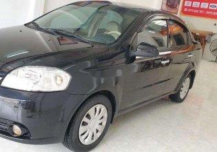 Bán Daewoo Gentra đời 2009, màu đen giá 155 triệu tại Phú Thọ