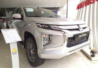 Chiếc xe bán tải - Mitsubishi Triton: Phiên bản AT Mivec Premium sản xuất 2020, màu bạc, bán giá tốt giá 740 triệu tại Đồng Nai