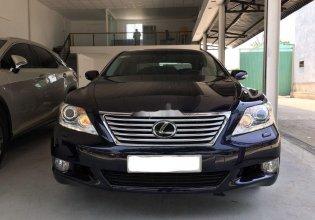 Bán Lexus LS 460L sản xuất năm 2010, màu đen, xe nhập như mới giá 1 tỷ 450 tr tại Tp.HCM