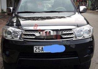 Bán xe Toyota Fortuner sản xuất năm 2011, màu đen giá 495 triệu tại Lai Châu