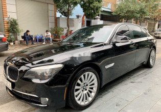 Bán BMW 7 Series 750Li đời 2010, màu đen xe gia đình giá cạnh tranh giá 850 triệu tại Tp.HCM