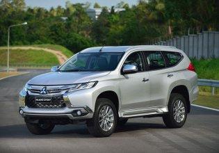 Xả hàng tồn kho với giá cực rẻ với chiếc Mitsubishi Pajero Sport 2.4 MT, đời 2019, màu trắng giá 980 triệu tại Tp.HCM