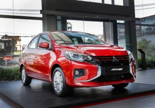 Ưu đãi trả góp, tặng phụ kiện chính hãng khi mua chiếc Mitsubishi Attrage 1.2 CVT, đời 2020 giá 460 triệu tại Lai Châu