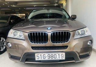 Cần bán xe BMW X3 sản xuất 2012, màu nâu, nhập khẩu, ưu đãi lớn giá 795 triệu tại Tp.HCM