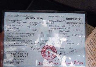 Cần bán gấp Hyundai Libero đời 2003, màu xanh lam, xe nhập giá 155 triệu tại Bình Thuận