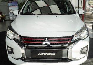 Bán xe Mitsubishi Attrage 1.2 CVT đời mới nhất 2020, màu trắng giá 460 triệu tại Quảng Nam