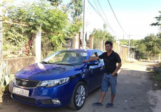 Cần bán lại xe Kia Forte sản xuất năm 2010, màu xanh lam, nhập khẩu  giá 290 triệu tại Bình Dương