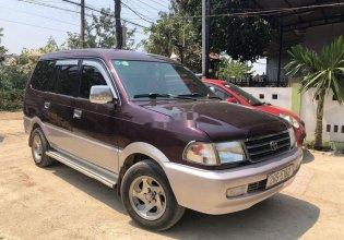 Cần bán lại xe Toyota Zace sản xuất 2003, màu đỏ, 165tr giá 165 triệu tại Gia Lai